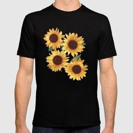 Happy Yellow Sunflowers T-shirt