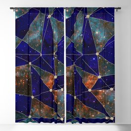 Stars Connections Blackout Curtain