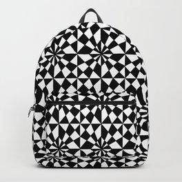 optical pattern 18- Backpack