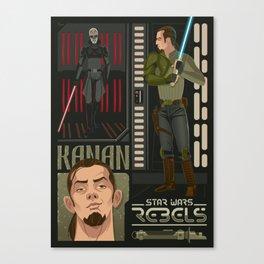 Rebel 2: Kanan Jarrus Canvas Print