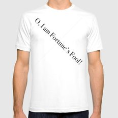 Fortune's Fool Mens Fitted Tee White MEDIUM