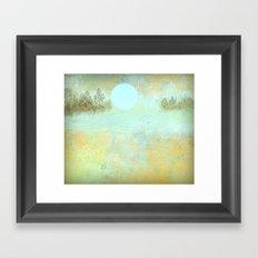 Landscape Reflections Framed Art Print