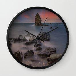 Rhoscolyn Rocks Wall Clock