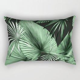 Palm Springs (Noir) Rectangular Pillow