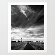 My View of Twenty Nine March (Morning) - South Art Print
