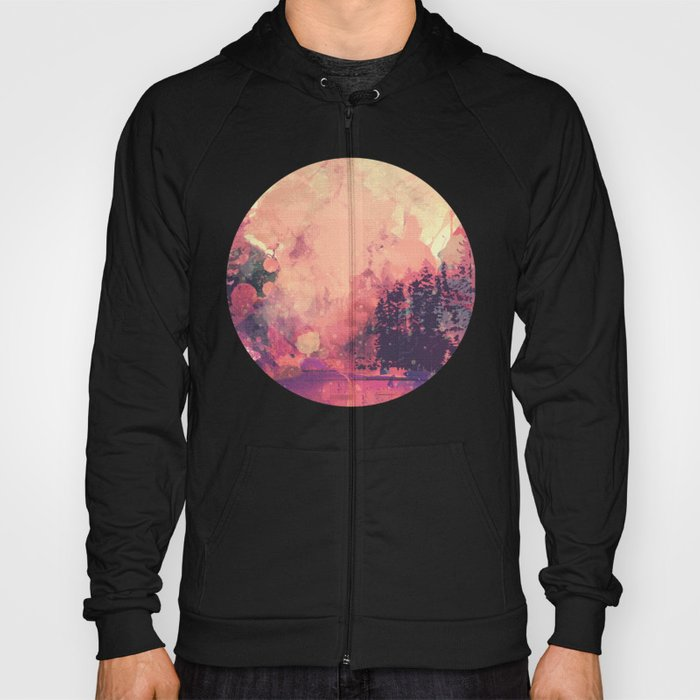 colorful forest n2 Hoody