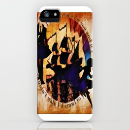 Kaz and Inej - crawl iPhone Case