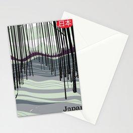 Japan woodland Stationery Cards