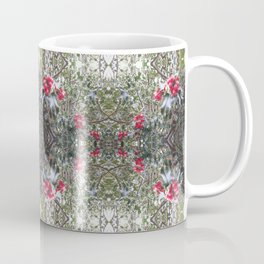 Very Berry Holly Christmas Multi Fractal from Photo 805 Coffee Mug