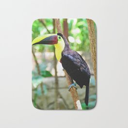 Yellow-Throated Toucan Bath Mat