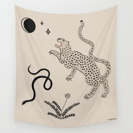Desert Prey Wall Tapestry