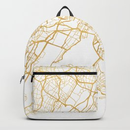 NEW YORK CITY NEW YORK CITY STREET MAP ART Backpack