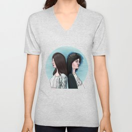 KENDALL AND KYLIE Unisex V-Neck