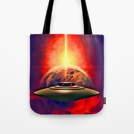 Destroy the Earth Tote Bag