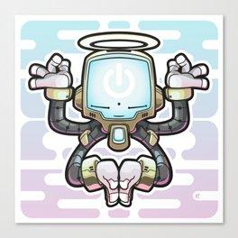 CONNECT_Bot022 Canvas Print
