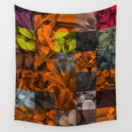 Foliage Patchwork #9 Wall Tapestry