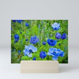 Spring Blues Mini Art Print