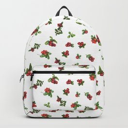 Cranberries white background Backpack