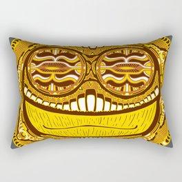 Adrenaline Mask Rectangular Pillow