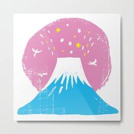 """Symbol of happiness """"Mount Fuji"""" Japan Metal Print"""