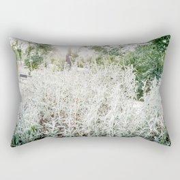 La silueta de Artemisa. Rectangular Pillow