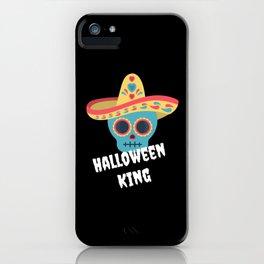 Halloween King King Halloween Gift iPhone Case