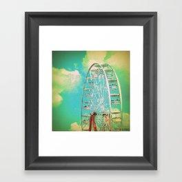 Country Fair Ferris Wheel #2 Framed Art Print