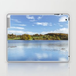 View to Near Sawrey and Hill Top on Esthwaite Water. Lake District, UK. Laptop & iPad Skin