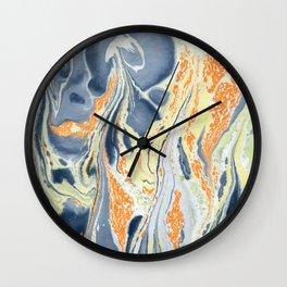 Erupting Lava #abstract #sabidussi #society6 #buyartprints Wall Clock