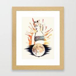 Marry The Night Framed Art Print