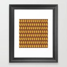 Leaves Falling (Smaller Print) Framed Art Print
