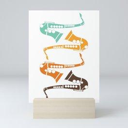 Saxophone Music Jazz Saxophonist Gift Mini Art Print