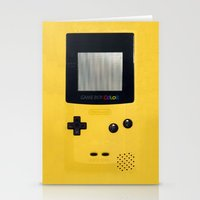 gameboy Stationery Cards featuring GameBoy by Blending
