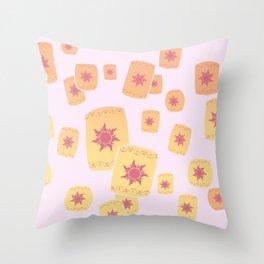 Lost Princess Lanterns Throw Pillow