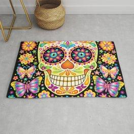 Día de Muertos Sugar Skull (Fiesta) Rug