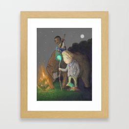 The Adventurers Framed Art Print