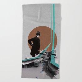 Inspection Beach Towel