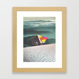 A Gradual Process of Change Framed Art Print