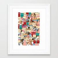 baking Framed Art Prints featuring Baking by Joke Vermeer