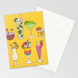 Tropical Libations Stationery Cards