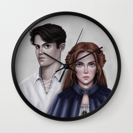Lili and Kol Wall Clock