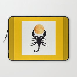 A Scorpion With The Moon In The Frame #decor #homedecor #buyart #pivivikstrm Laptop Sleeve