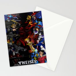 Theiser season 3 Poster Stationery Cards