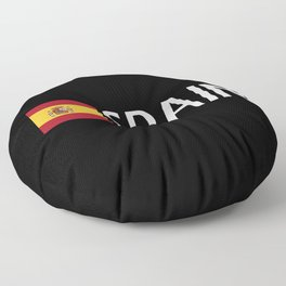 Spain: Spanish Flag & Spain Floor Pillow
