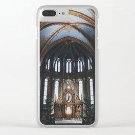Budapest - Matthias Church Clear iPhone Case