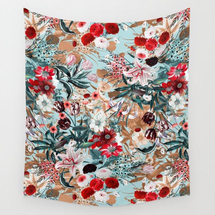 Summer Botanical Garden XIII Wall Tapestry