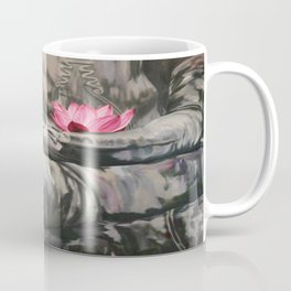 I love the smell of my palm in the morning-Apocalypse now. Homage to F.Ford Coppola Coffee Mug