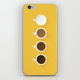Coffee + Simplicity iPhone Skin