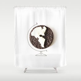 Oreo world Shower Curtain