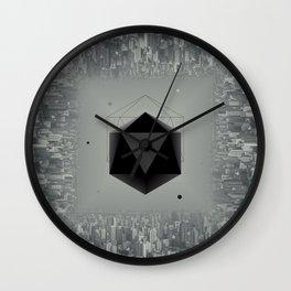 City Intruder Wall Clock